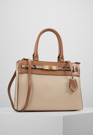 FERMES - Handtas - nude/tan/gold-coloured