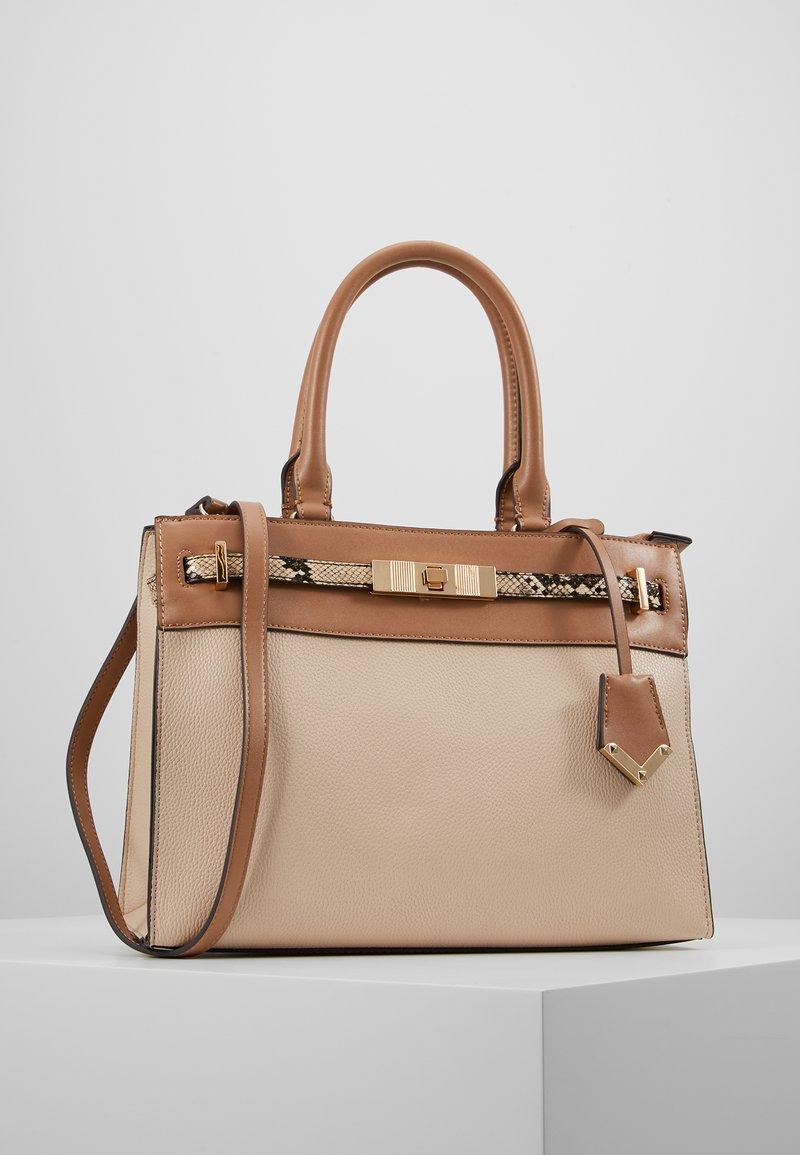 ALDO - FERMES - Handbag - nude/tan/gold-coloured