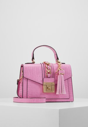 MARTIS - Handbag - cyclamen with gold hardwareembossed
