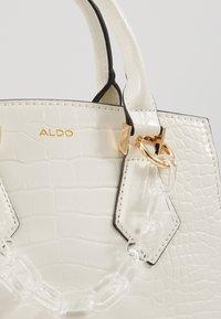 ALDO - MAROUBRA - Handbag - white - 6
