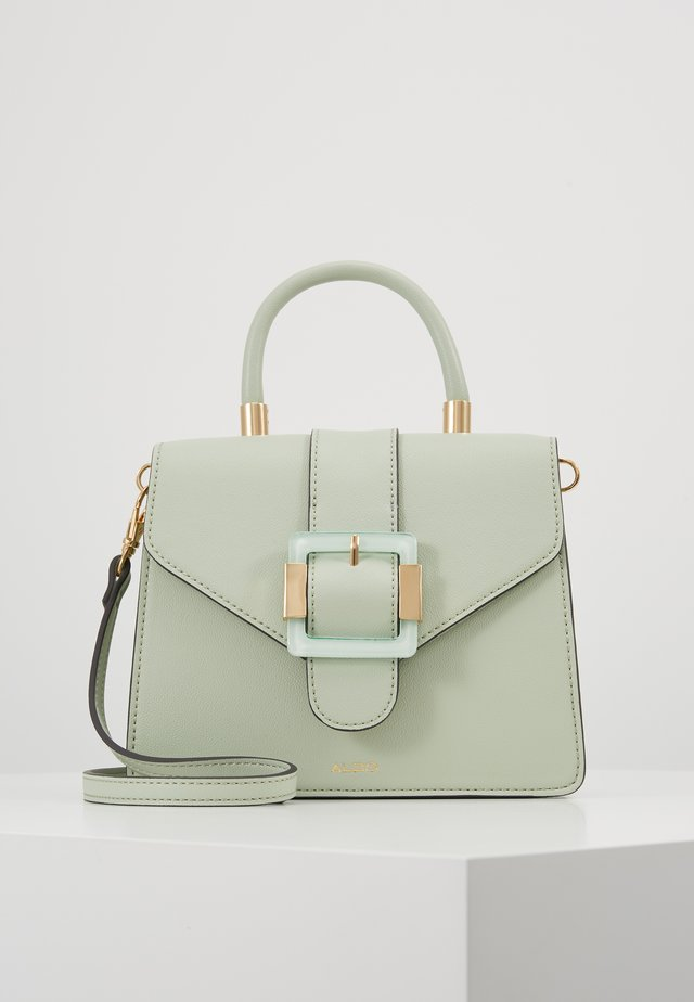 BERTRA - Handbag - light green