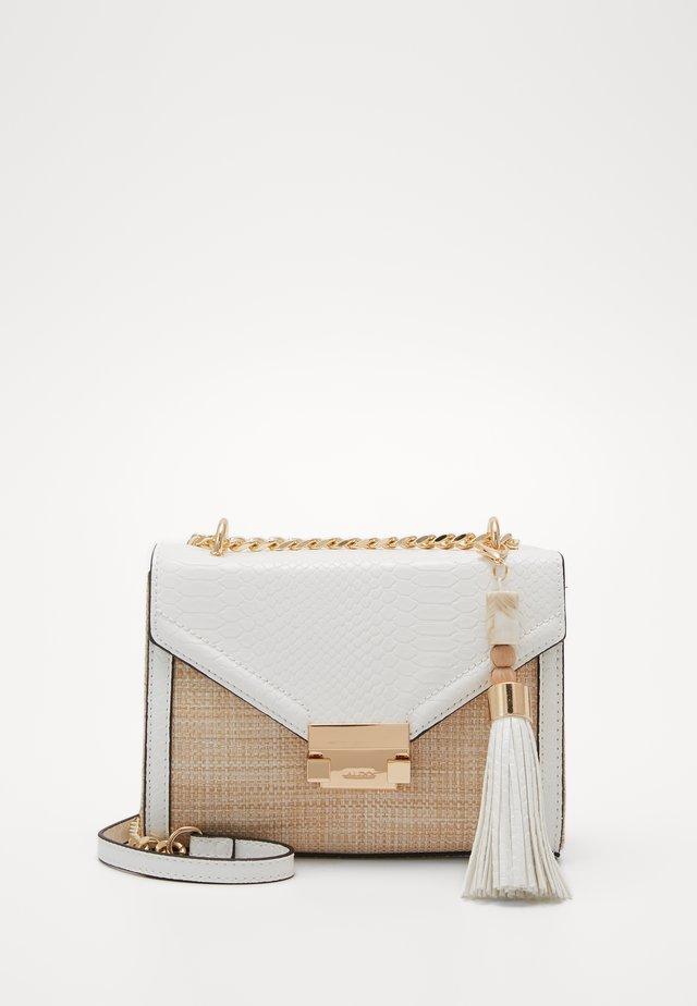 SAKIS - Handtasche - white