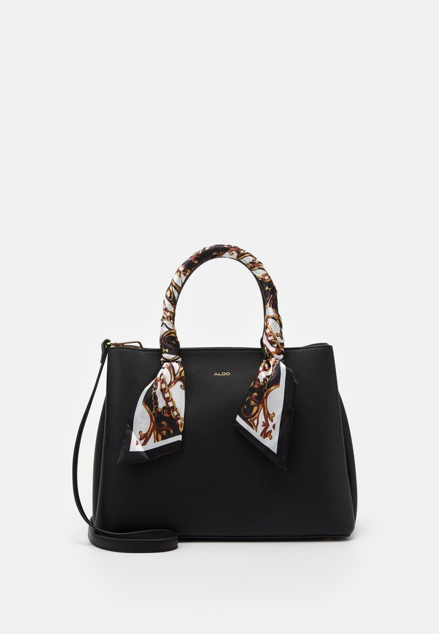 TWEEDIA - Handbag - black