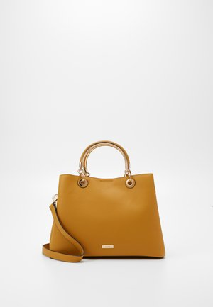 CHERRAWIA - Handbag - dark yellow
