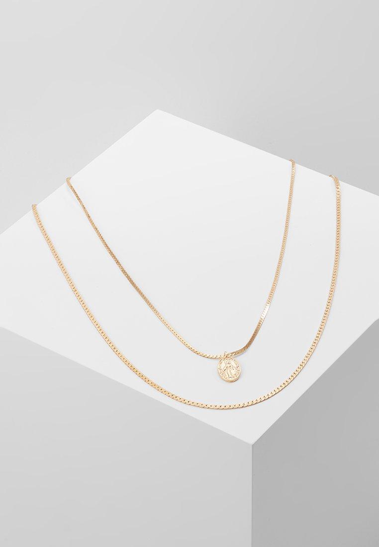 ALDO - WOODSTON 2 PACK - Halskette - gold-coloured