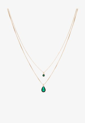 TELILLA - Halskette - medium green