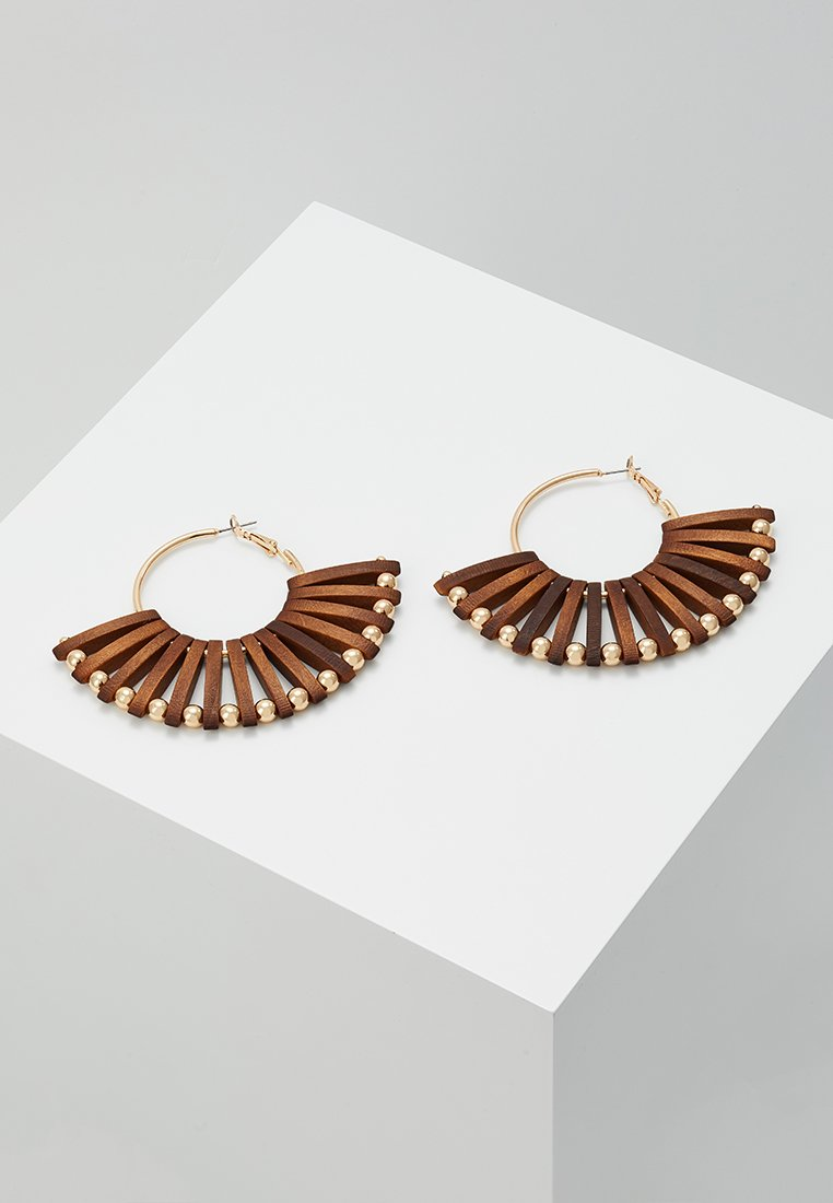ALDO - ISUDIA - Earrings - brown