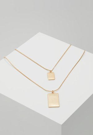 JERIALLE 2 PACK - Necklace - gold-coloured