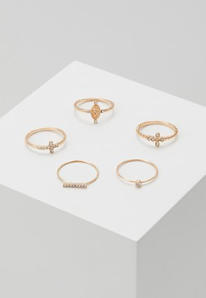 CLINA 5 PACK - Prsten - gold-coloured
