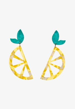 GWALESSA - Earrings - yellow/miscellaneous