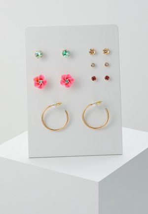 MENASA 6 PACK - Earrings - bright multicolor