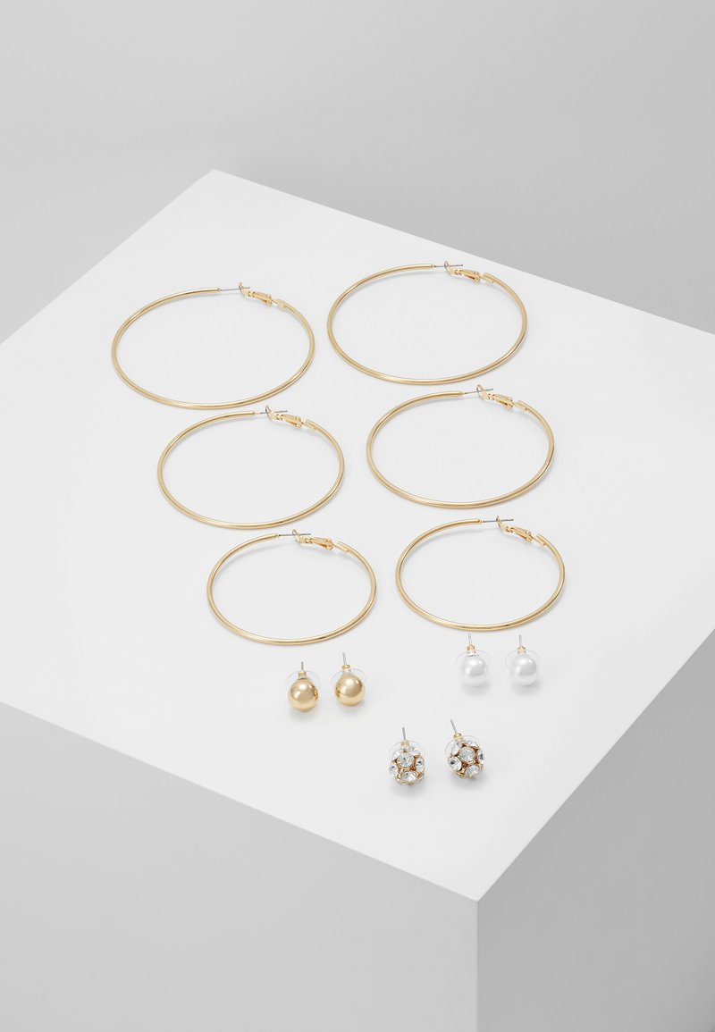 ALDO - LOTHEADDA 6 PACK - Earrings - white
