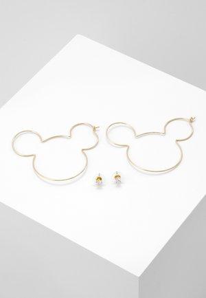 DISNEY MICKEY-HOOPS - Oorbellen - gold-coloured