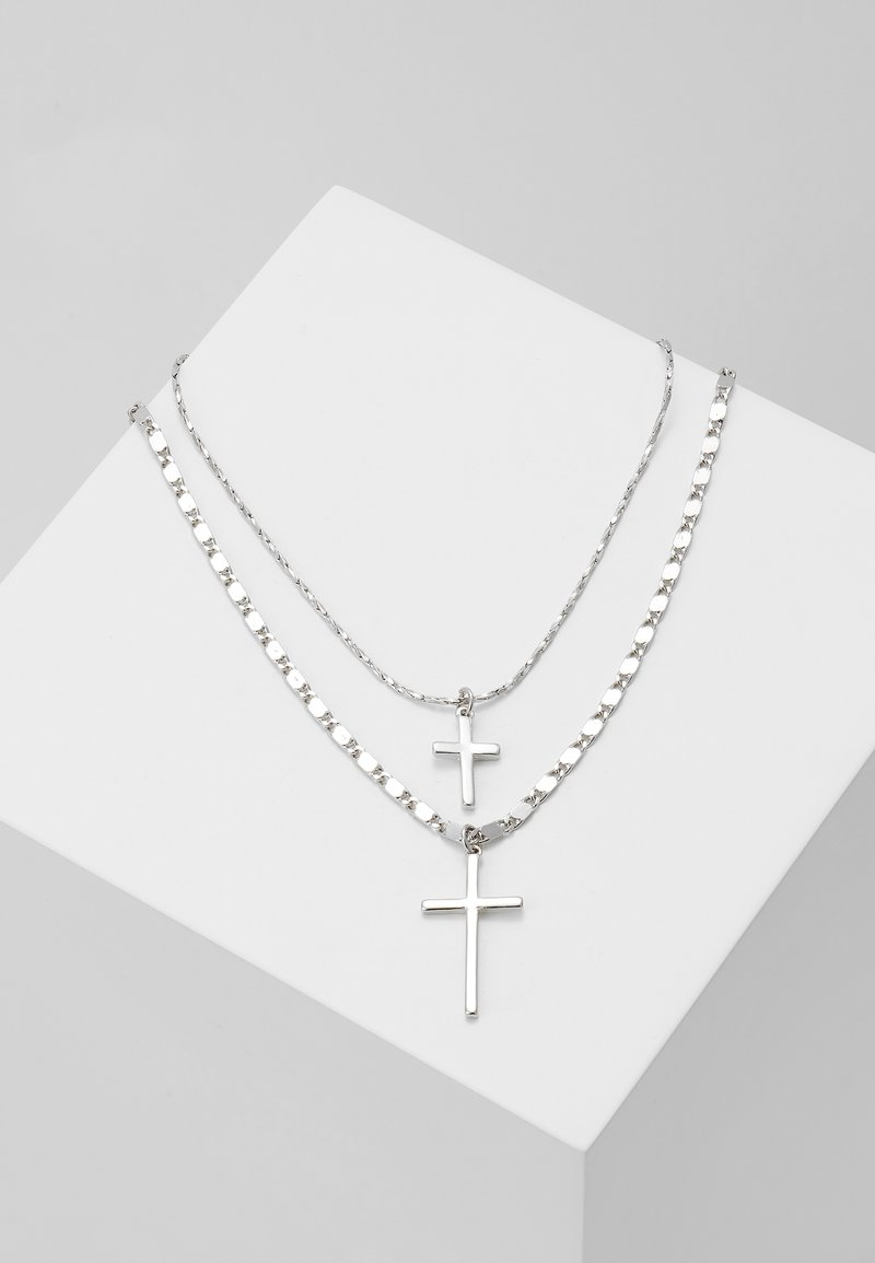 ALDO - LESSA 2 PACK - Halsband - silver-coloured
