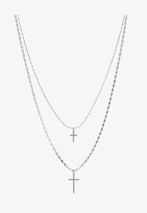 LESSA 2 PACK - Ketting - silver-coloured