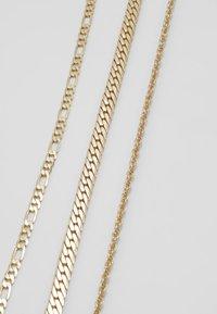 ALDO - QOLIA 3 PACK - Ketting - gold-coloured - 4