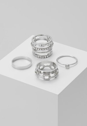 AMORFILITH 4 PACK - Ring - white