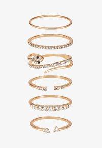 ALDO - VIAVEN 6 PACK - Ring - gold-coloured - 3