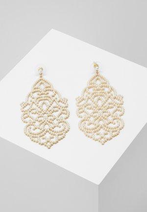 SEVENNA - Orecchini - gold-coloured/white