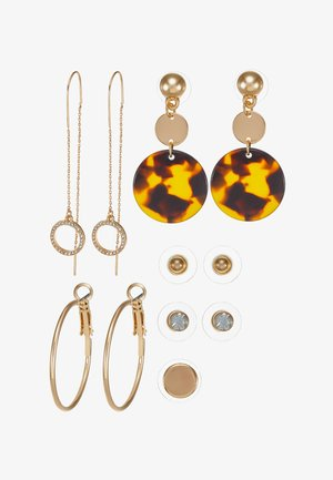 EOWAOWIA 6 PACK - Pendientes - brown miscellaneous