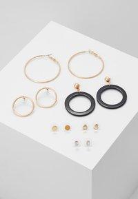 ALDO - GRILANNA 6 PACK - Earrings - black - 0