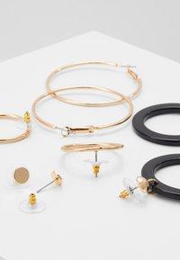 ALDO - GRILANNA 6 PACK - Earrings - black - 2