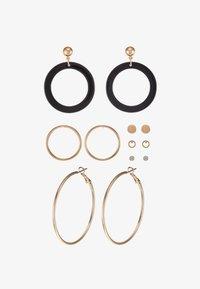 ALDO - GRILANNA 6 PACK - Earrings - black - 3