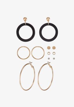 GRILANNA 6 PACK - Earrings - black