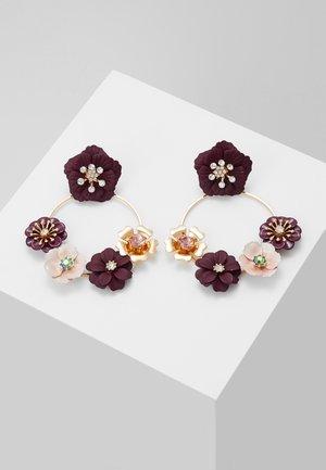 REASSA - Earrings - purple miscellaneous