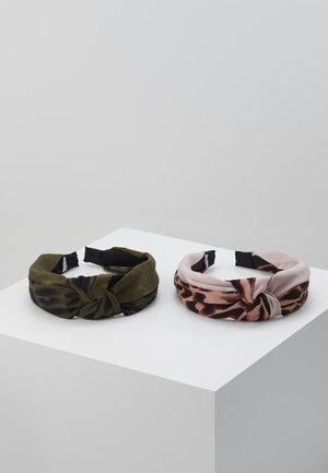ADRIADIA 2 PACK - Haar-Styling-Accessoires - khaki