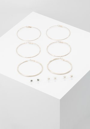 ETHENIA 6 PACK - Kolczyki - rose gold-coloured