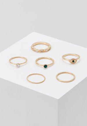 CLUNY 6 PACK - Ringar - gold-coloured