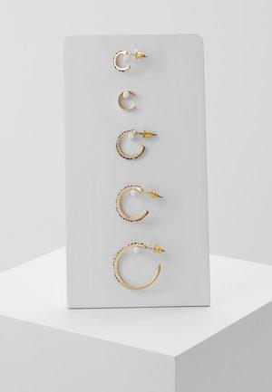 ALLINGA 5 PACK - Pendientes - gold-coloured