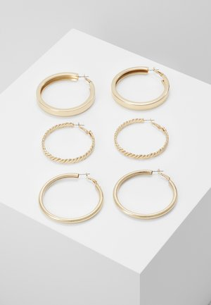 GILGANDRA 3 PACK  - Earrings - gold-coloured