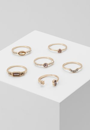 NADATA 7 PACK - Bague - gold-coloured