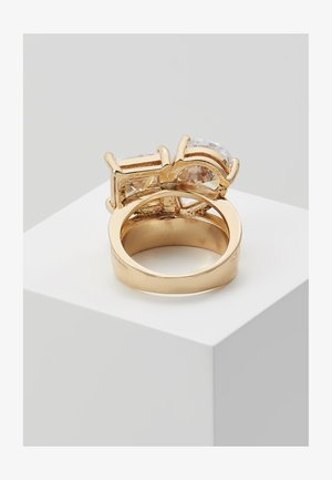SOFTWIND - Bague - clear/gold-coloured