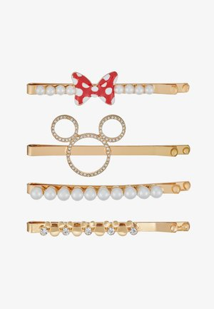 DISNEY PINS MICKEY 4 PACK - Hair styling accessory - gold-coloured