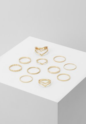 VIODIA 11 PACK - Ringar - gold-coloured