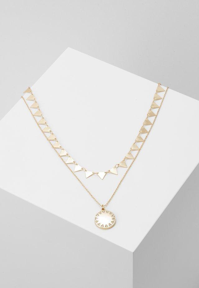 CADAFAIS SET - Necklace - gold-coloured