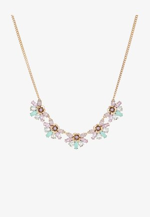 MANACCA - Collana - mint and blush combo/gold-coloured