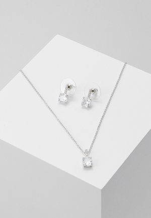 TREZELA SET - Pendientes - silver-coloured