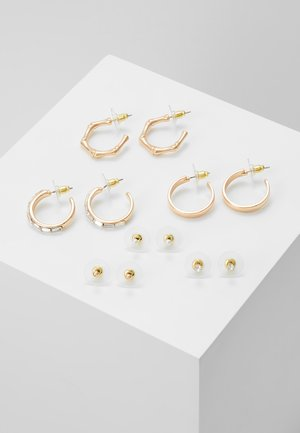 ARGENTEA 6 PACK - Earrings - gold-coloured
