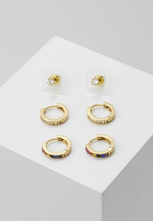 CHAINCA 3 PACK  - Oorbellen - bright multi/gold