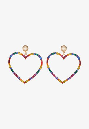 ESRA - Earrings - bright multi/gold-coloured