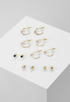 KEID 6 PACK - Oorbellen - multi/gold-coloured