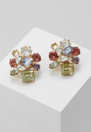 MALAMOCCO - Earrings - pastel multi/gold-coloured