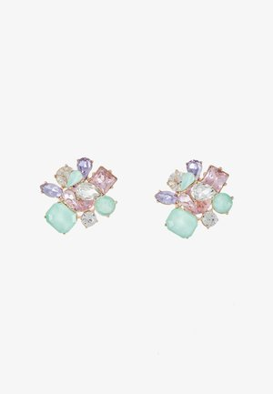 MALAMOCCO - Boucles d'oreilles - mint/blush/purple combo