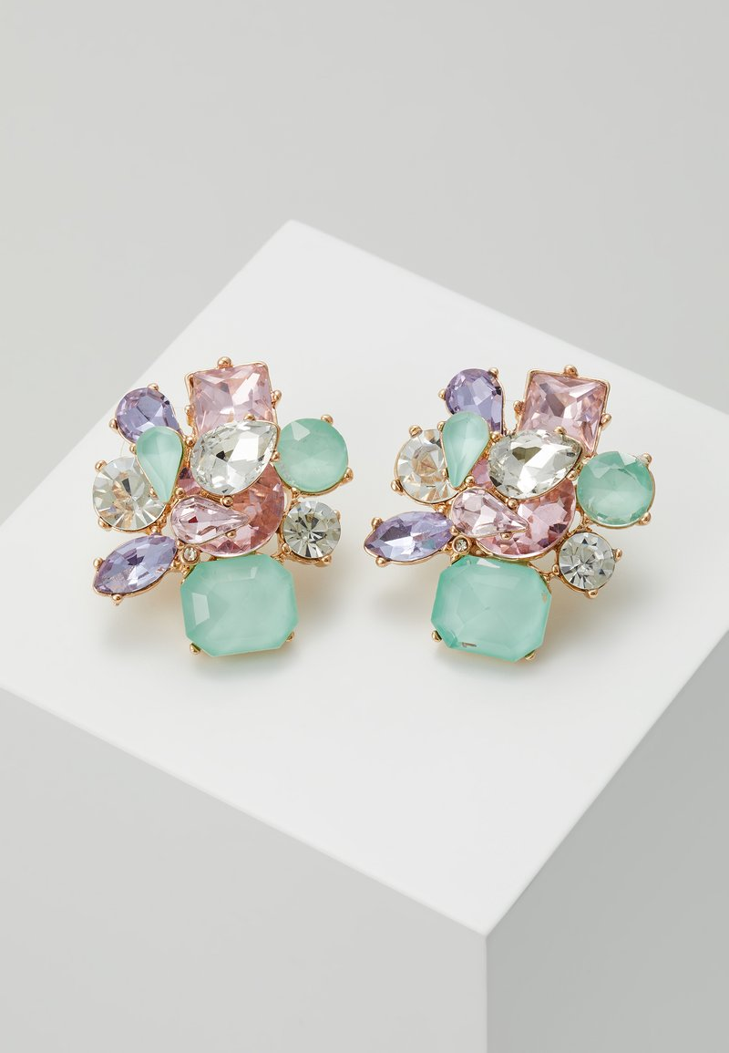 ALDO - MALAMOCCO - Pendientes - mint/blush/purple combo
