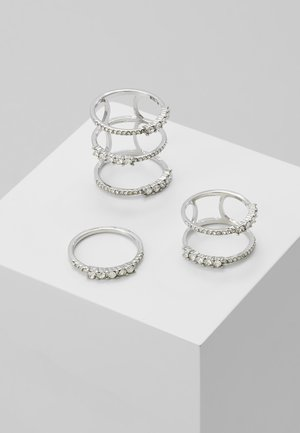 BOUDALI 3 PACK  - Ring - silver-coloured