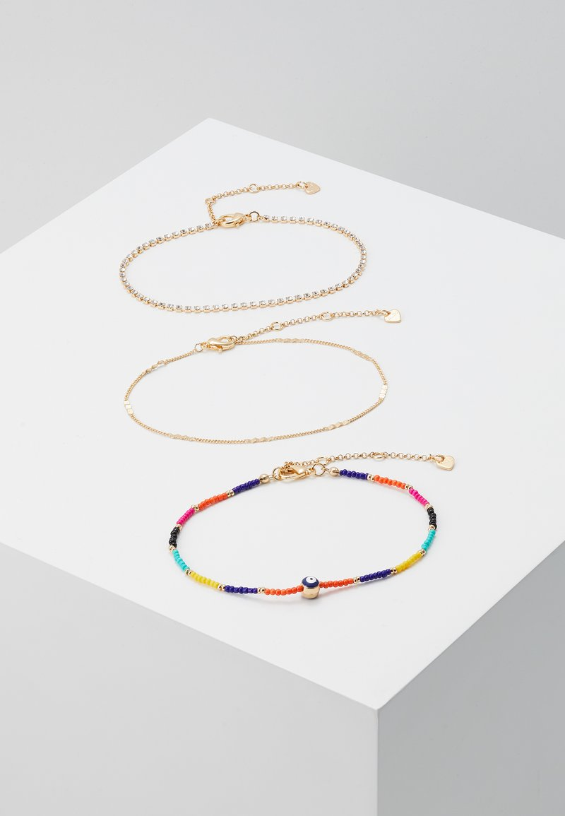 ALDO - EDENAWET 3 PACK - Bracelet - bright multi on gold-coloured